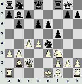 Портрет шахматиста. Евгений Бареев